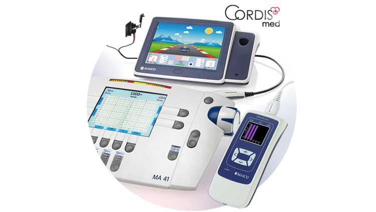 Купить аудиометры и тимпанометры Maico (Германия) в Cordismed по доступным ценам