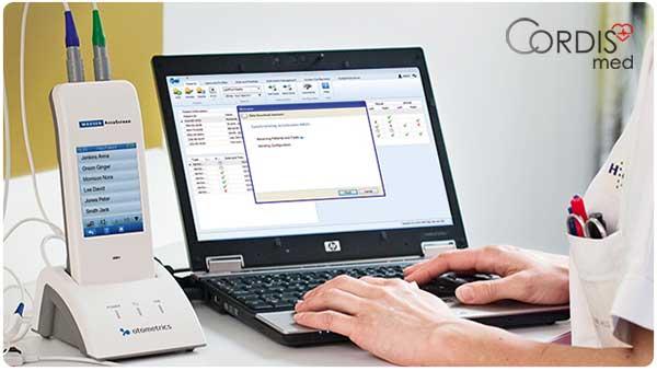 Купить аудиометр Otometrics MADSEN AccuScreen с регистрацией ОАЭ / КСВП — компьютерная система со специализированным программным обеспечением по выгодой цене
