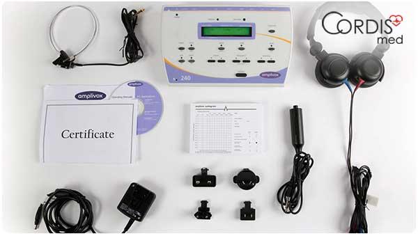 оптимальная конфигурация аудиометра / тимпанометра для покупки в Cordismed