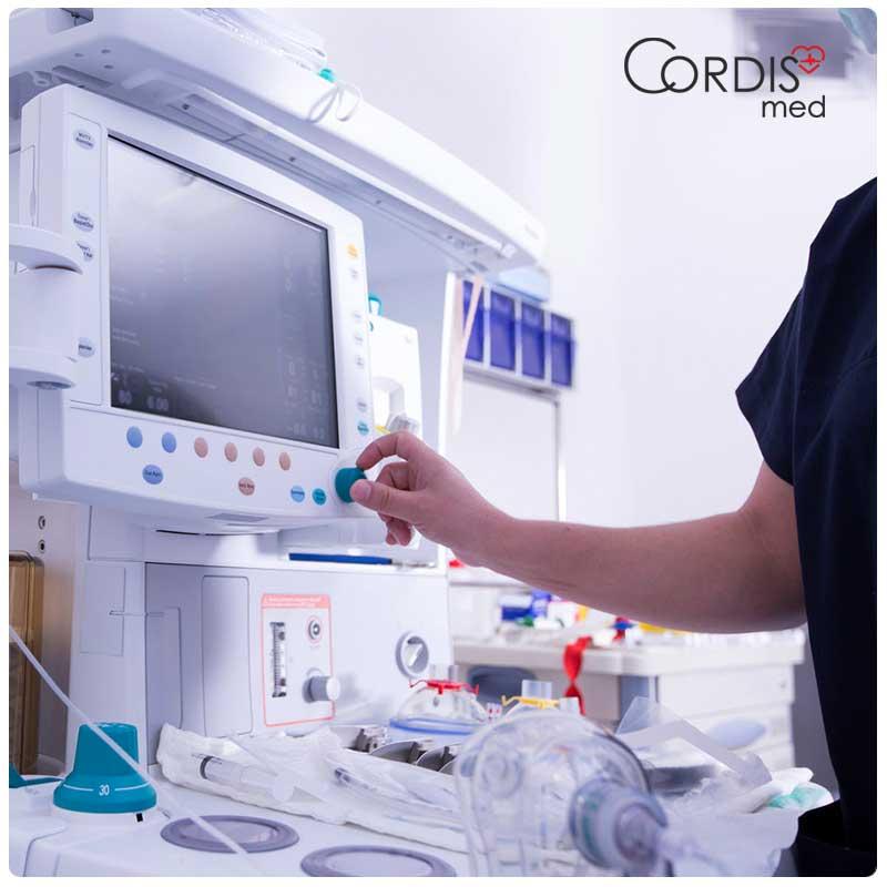 Диагностика медицинского оборудования для реанимации