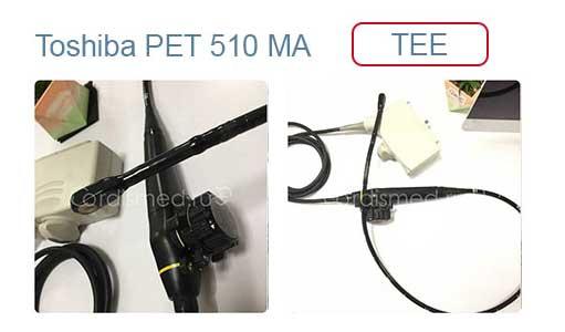 Ремонт чреспищеводного TEE УЗИ датчикаToshiba PET 510 MA