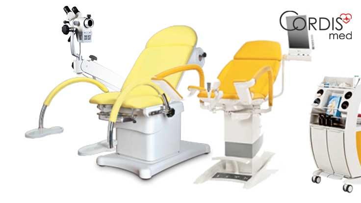 Монтаж и ввод в эксплуатацию гинекологических кресел, кольпоскопов, фетальных мониторов.