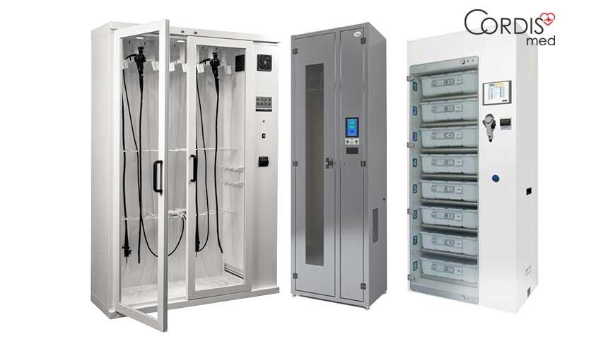 Купить шкафы для хранения и сушки эндоскопов в Cordismed